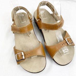 """SAS orthopaedic """"grandma"""" sandals in tan sz 7"""